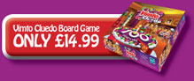Buy the Vimto Cluedo boardgame online